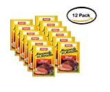 PACK OF 12 - Adolph's Marinade in Minutes Original Meat Tenderizing Marinade, 1.0 oz