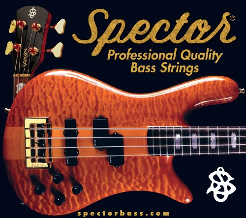 Spector Stainless Steel 30-130 Tapered Electric Bass Guitar Strings by Spector