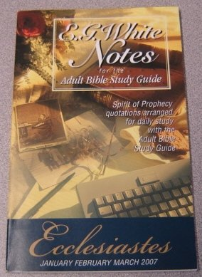 Download E  G  White Notes for the Adult Bible Study Guide