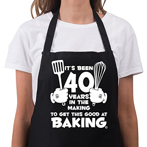 Women's 50th Birthday Gift Apron It's Been 40 Years 1977 Aprons 50th Birthday Gifts
