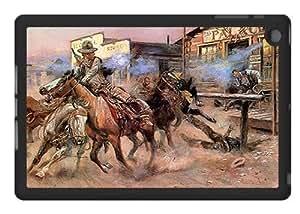 Cowboy Gunfight - Case for iPad Mini