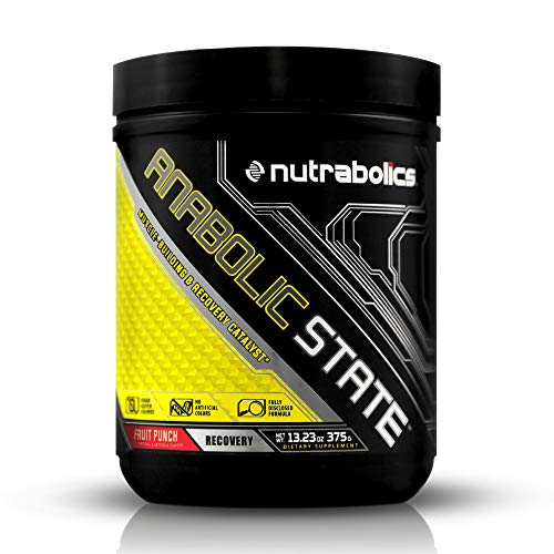 Nutrabolics Anabolic State Fruit Punch Muscle Building and Recovery...