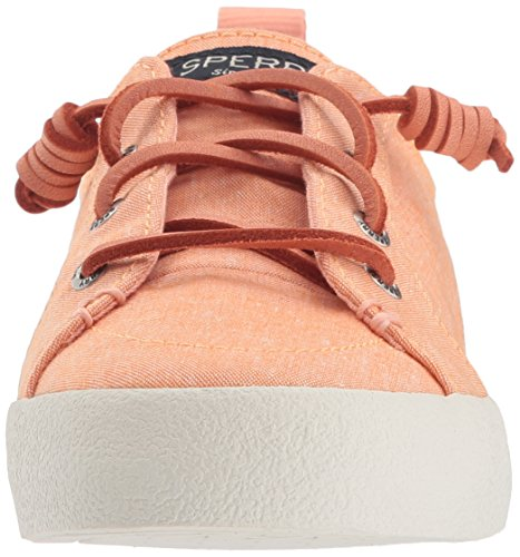 Crest Sneaker Vibe Women's Sperry Crepe Salmon Chambray qO5PBzx
