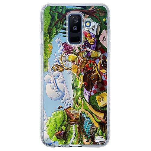 Capa Personalizada Samsung Galaxy A6 Plus A605 Designer - DE32