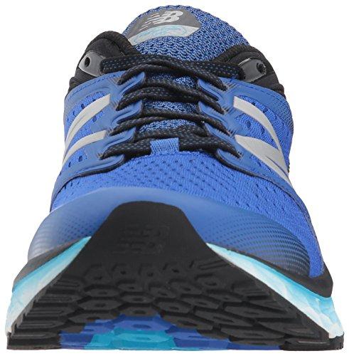 New Balance Mens 1080v8 Fresh Foam Running Shoe Pacific / Black