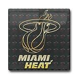Miami Heat Gold Logo Coasters Cork Pat Mat