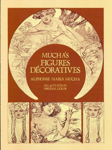 Mucha's Figures Décoratives (Dover Fine Art, History of (Mucha Woman Book)