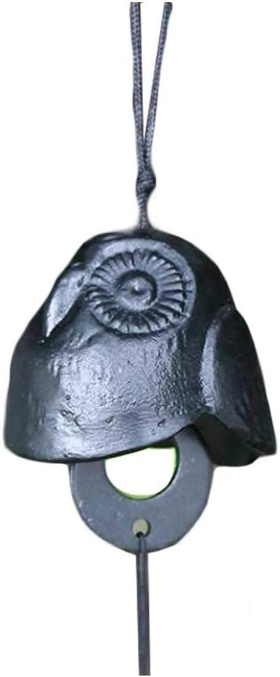 Pigeon Fleet Campanas de Viento de Metal de Hierro Fundido de Campanilla de Viento Vintage para Interior al Aire Libre