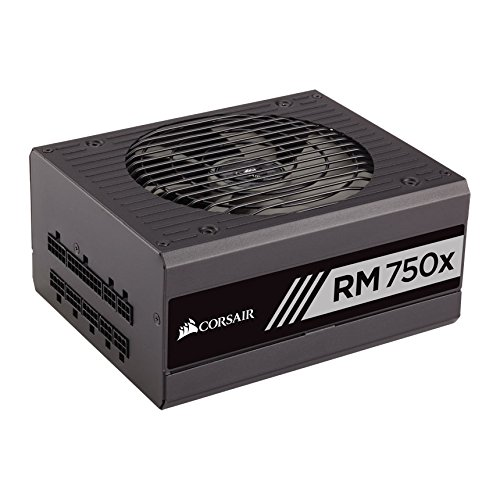 8 opinioni per Corsair RM750x 750W ATX Black- power supply units (750 W, 100- 240 V, 825 W, 47-