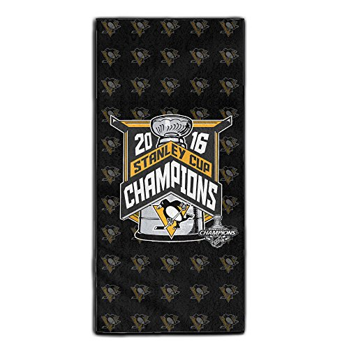 2016 Stanley Cup Champions Pittsburgh Penguins Travel & Sports Yoga Gym Bath Face Towel