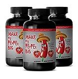 Sexual pleasure for men - MAKE MY PEPPER BIG - Sex supplements for men - 3 Bottles 180 capsules