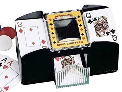 Amazon.com: 4 cubierta Card Shuffler by walterdrake: Toys ...