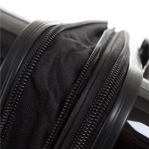 Reißverschluss an einem Kofferset