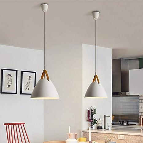 Restaurante Tomshine lamparas de techo modernas cafeter/ía 2 pack E27 L/ámpara colgante techo de Metal para Comedor Bar L/ámpara techo colgantes Sala