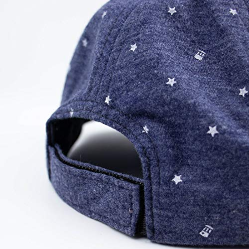 ERISO Baby Boy Embroidery Baseball Cap Newborn Stripe Cotton Hat /¡/