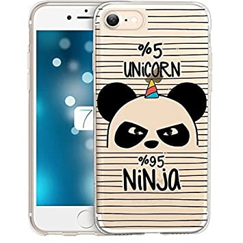 coque transparente iphone 8 panda