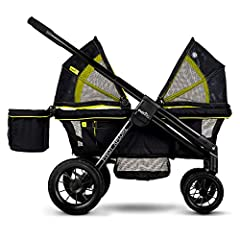 Meet the new, ultimate ride-share stroller, pivot xploreall-terrain stroller wagon. This new riding experience provides extended use by accommodating 1 or 2 Kids up to 5 years old. The pivot explore easily transforms from a stroller to a wago...