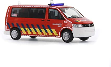 1//87 Rietze VW t5 GP bus Brandweer Bree NL 52625