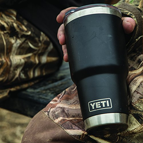 YETI Rambler 30 oz Stainless Steel Vacuum Insulated Tumbler w/MagSlider Lid, Black by YETI (Image #2)