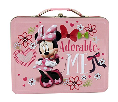 The Tin Box Company 527637-12 Minnie Mouse Large Tin Carry All- Assorted