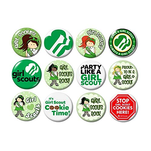 - Girl Scout Buttons