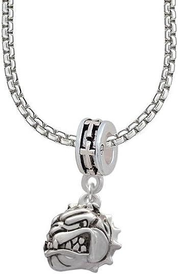 18+2 Small Jaguar Mascot Heart Locket Necklace