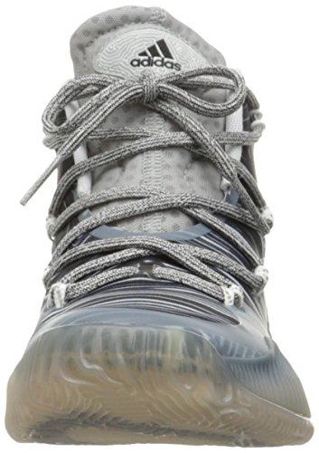 Scarpa Da Basket Esplosiva Adidas Performance Mens Pazzesca Nero / Nero Bianco