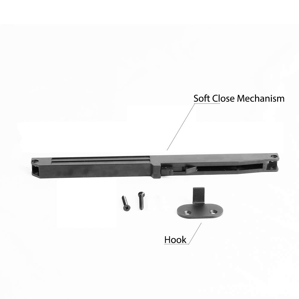 KINMADE Soft Close Mechanism for Sliding Barn Doors 2 Pack