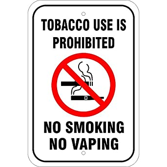 Amazon.com: Consumo de tabaco es prohibido. No Smoking no ...