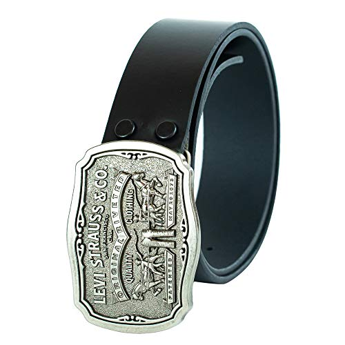 Black Removable Buckle Belt - 9