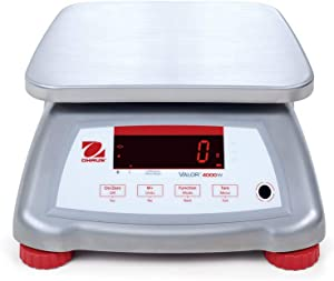 The Amazing Ohaus V41XWE6T Valor 4000 Legal For Trade Food Scale-6 kg/15 lb