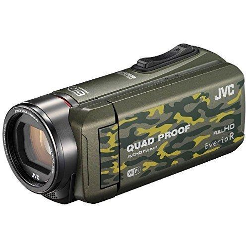 JVC ビデオカメラ Everio R 防水5m 防塵仕様 Wi-Fi対応...