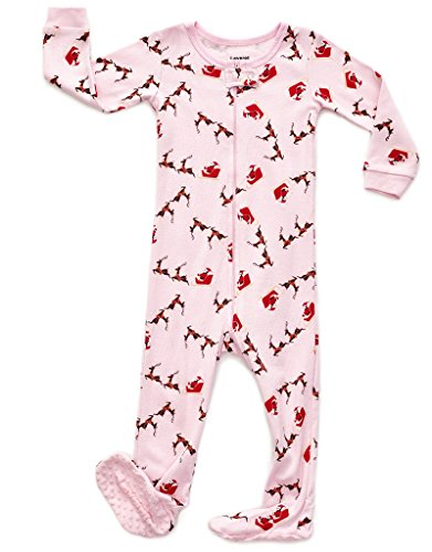 Santa & Sleigh Footed Pajama