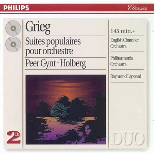 Grieg: Popular Orchestral Suites by Philips