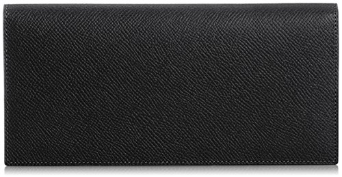 MAISON de HIROAN Leather Long Wallet Made in Japan 21551 Black/Blue by MAISON de HIROAN