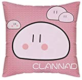 Siawasey Anime Clannad Cartoon Pillowslip Pillowcase Pillow Case Cover Double-sided 45cm*45cm(P# 04)