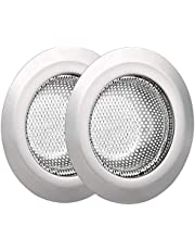 """Horuhue Stainless Steel Sink Filter - Kitchen Sink Strainer Mesh Sink Drain,Durable Sink Basket with Large Wide Rim 4.5"""" for Kitchen Sinks,Pack of 2"""