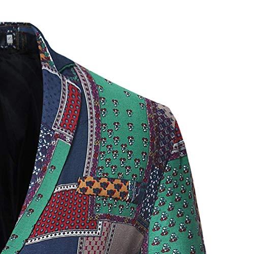 Das Business Leisure Essential Costume Rétro Slim Blazer Fit Hommes Veste Wie Tuxedo Bild Pour Twx7q4F
