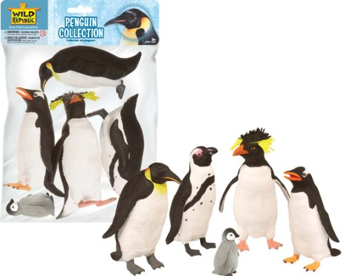 Polybag Penguin Collection 5 Pieces (Penguin Toys)
