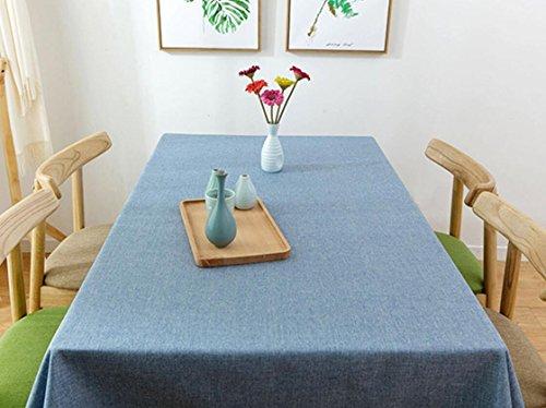 DIDIDD Decoraciones navideñas planas simples simples modernas del paño de tabla del algodón,F - 100 * 100cm