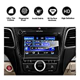2014-2017 Acura MDX ODMD Display 7-Inch Navigation Screen Protector, R RUIYA HD Clear TEMPERED GLASS Guard Shield Scratch-Resistant Ultra HD Extreme Clarity