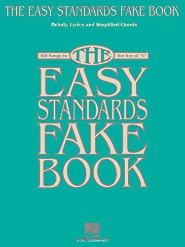 The Easy Standards Fake Book Melody Lyrics Simplified Chords In