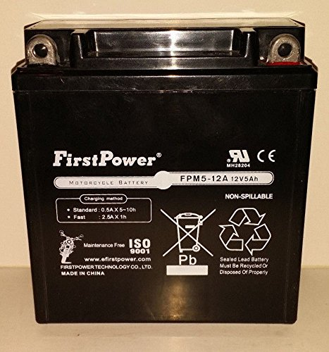12A A Motorcycle Battery - 4