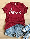 Mickey Mouse Love. Hand Screen Printed With Eco Water Based Ink. Disney Love T Shirt. Cool T Shirt. Disney Trip Shirt. Unisex Fit. Crew-Neck Shirt.