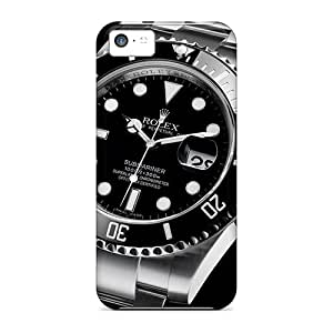 Shock-Absorbing Hard Cell-phone Cases For Iphone 5c (ZsN16145LFuX) Unique Design Beautiful Rolex Submariner 116610 Watches Classic Pictures