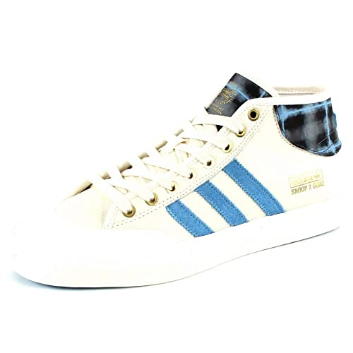 4fb8d728053fb0 adidas Originals Matchcourt MID X Snoop X G White  Amazon.co.uk ...