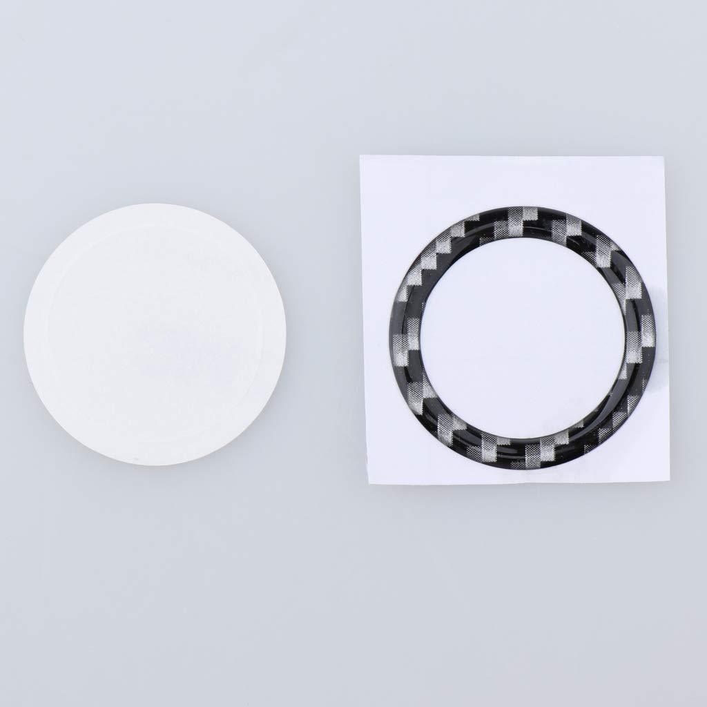 Gold-Black MagiDeal Aluminum Key Hole//Keyless Engine Push Start Button Surrounding Decoration Trim for BMW e90 e60 e70