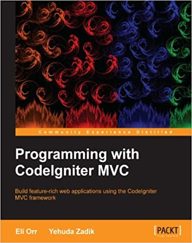 Programming with CodeIgniter