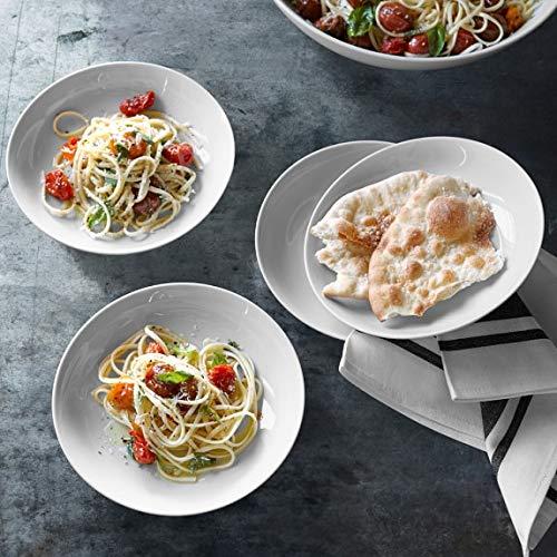 Pasta Bowls porcelain pasta bowls Set of 6 by Jennifer Royal Home