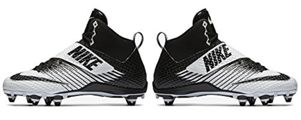 Nike Lunarbeast Pro D Football Cleats (8 D(M) US, White / Black-Black) by Nike (Image #4)